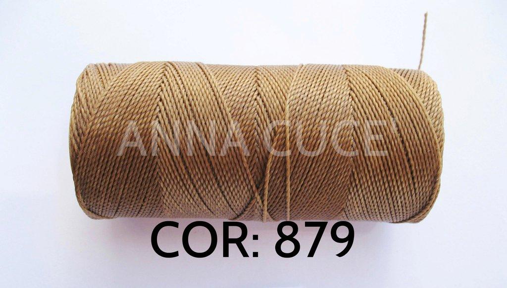 COLORE: 879 - 20 metri filo cerato LINHASITA 1 mm di spessore, filo per macramè, materiali