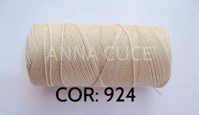 COLORE: 924 - 20 metri filo cerato LINHASITA 1 mm di spessore, filo per macramè, materiali