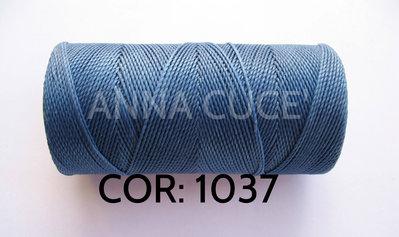COLORE: 1037 - 20 metri filo cerato LINHASITA 1 mm di spessore, filo per macramè, materiali