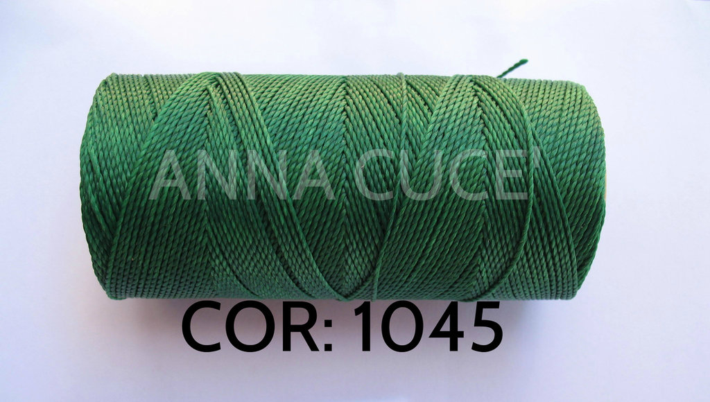 COLORE: 1045 - 20 metri filo cerato LINHASITA 1 mm di spessore, filo per macramè, materiali