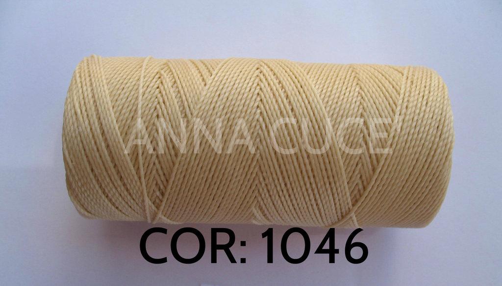 COLORE: 1046 - 20 metri filo cerato LINHASITA 1 mm di spessore, filo per macramè, materiali
