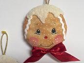 Natale - pallina di Natale ginger . pan di zenzero