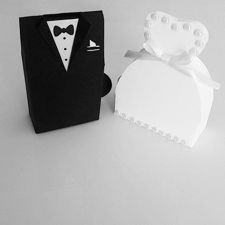 *sposi portaconfetti segnaposto matrimonio*