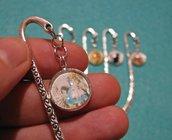 Segnalibri in argento antico...dal sapore vintage