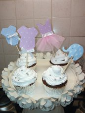 Cupcake Toppers decorazioni