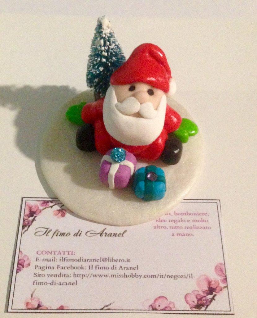 Statuetta decorativa natalizia