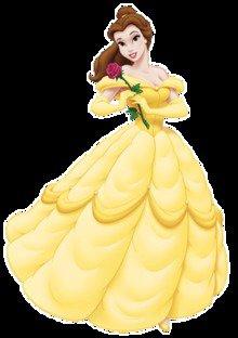 Costume di Belle  principessa del film animato BELLE