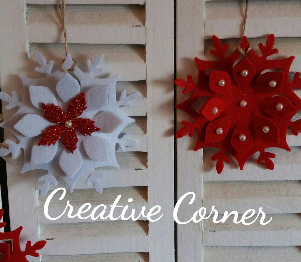 Estremamente Addobbi natalizi in feltro - Feste - Natale - di Creative Corner  RC56