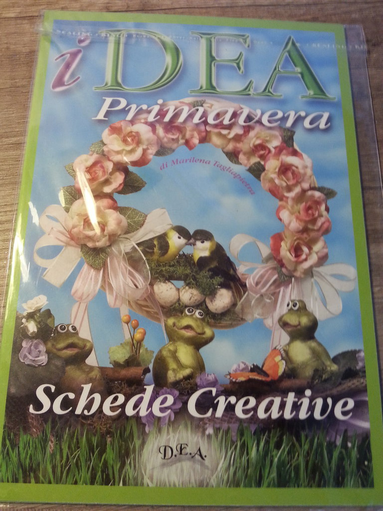 "Schede Creative ""iDea Primavera"""