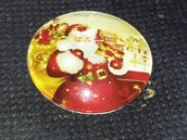 cabochon merry Christmas