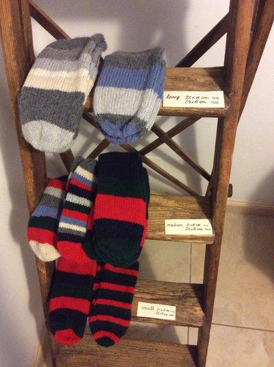 Calzini per piedi sempre freddi in misto lana