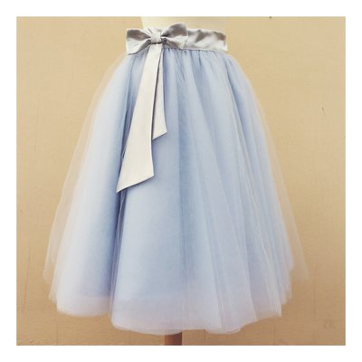 Gonna sartoriale  in Tulle a ruota