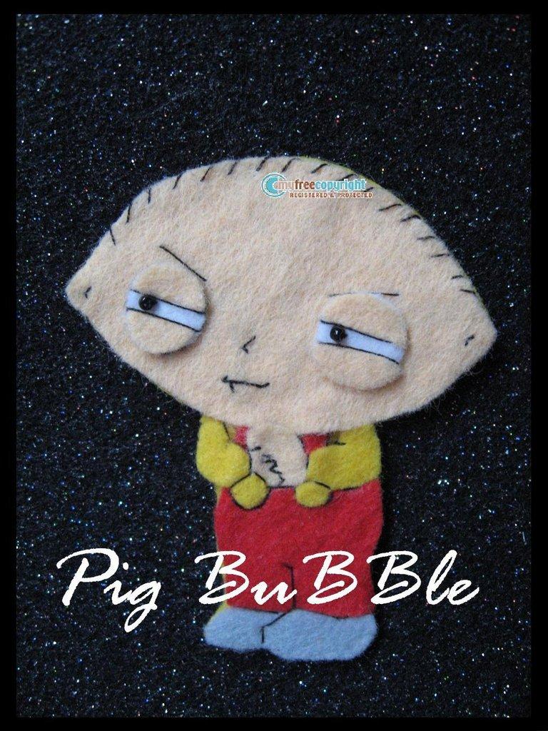 Spilla Stewie Griffin - Diabolico