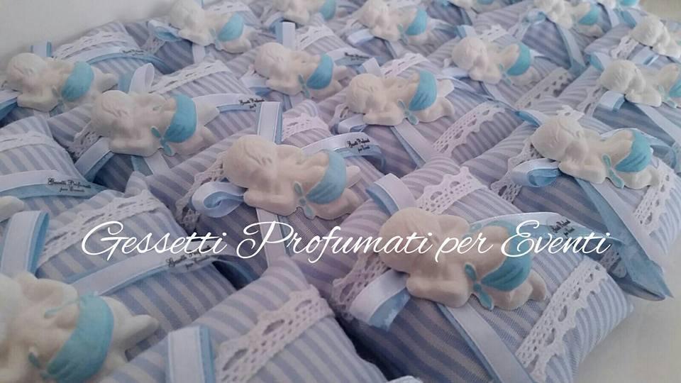 Cuscino portaconfetti nascita
