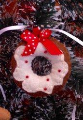 Il Natale in pannolenci: la Ciambellina