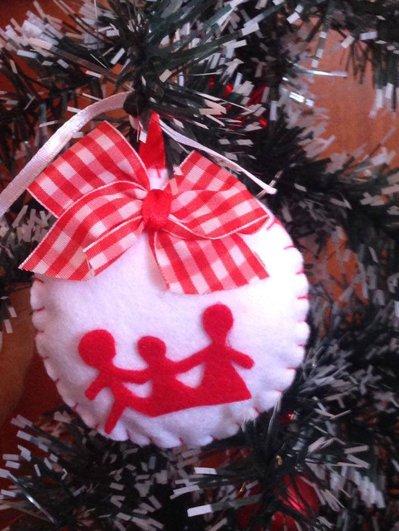 Il Natale in pannolenci: la Famiglia