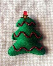 Il Natale in pannolenci: Albero di natale