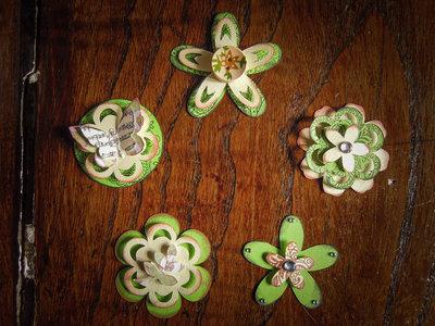 Green dreams - Abbellimenti per scrapbooking