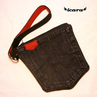Pochette tasca jeans