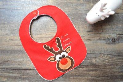 """Bavaglino natalizio """"Il mio primo Natale"""""""