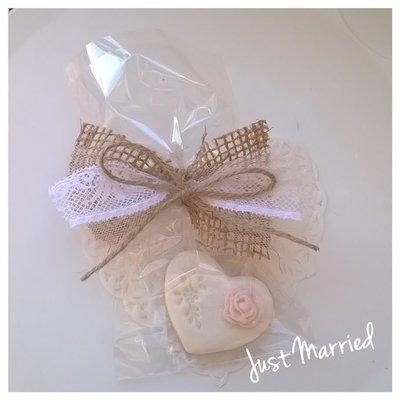 Biscotto decorato, segnaposto matrimonio, wedding,matrimonio, shabby chic