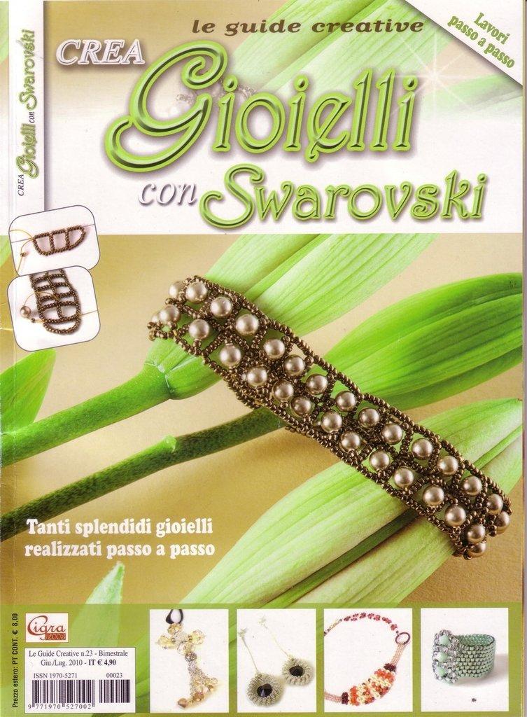 Rivista Crea gioielli con Swarovsky n.23