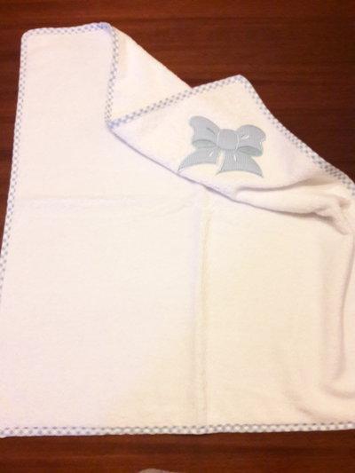 Asciugamani quadrato per neonato