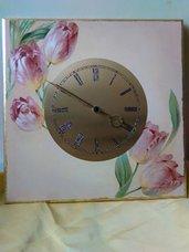 orologio realizzato a mano