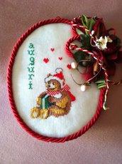 Auguri Natale per la porta