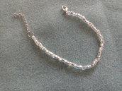 Braccialetto color argento