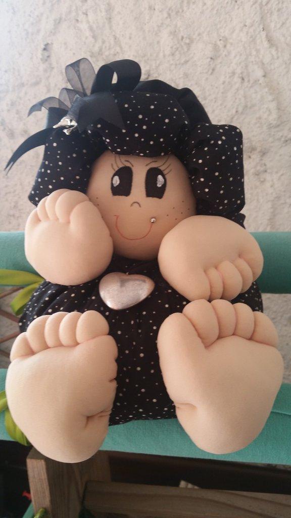 Bambola Lapandora Dark Grande H 22 L 20