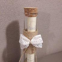 Partecipazioni Matrimonio Bottiglia.Partecipazioni Di Nozze Messaggio In Bottiglia Feste