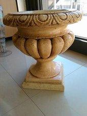 vaso decorato a mano