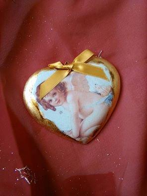 medaglione a cuore