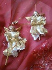 angeli natalizi oro