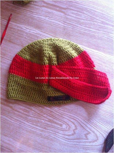 Cappellino uncinetto per bambino ispirato alle tartarughe for Oggetti per tartarughe