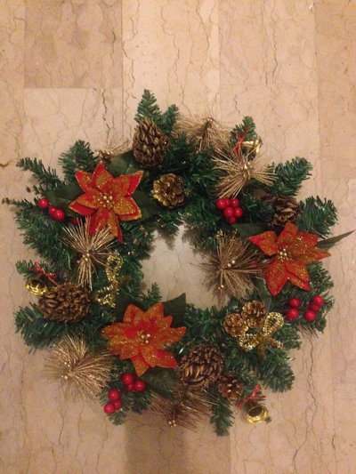 Corona natalizia 48cm