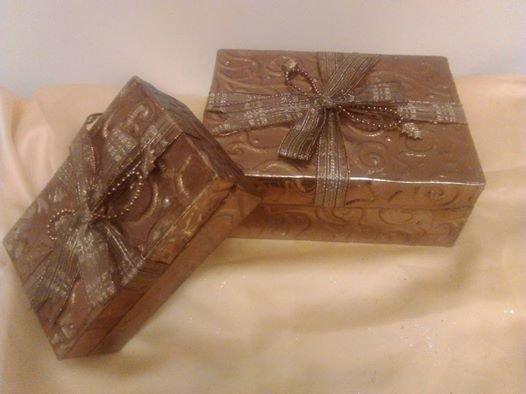 scatole regalo natalizie