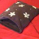 Cuccia sacco a pelo lettino gatti cani furetti handmade idea regalo San Valentino gatto cane Pan di Stelle