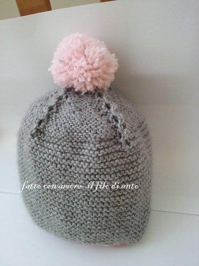Cappello in lana per bimbe
