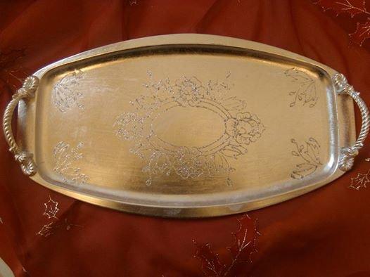 vassoio argento ovale