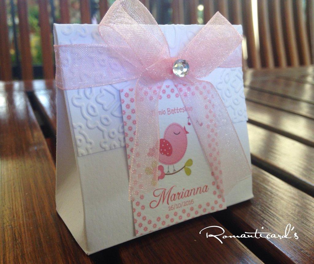 Scatolina per bomboniera by Romanticards