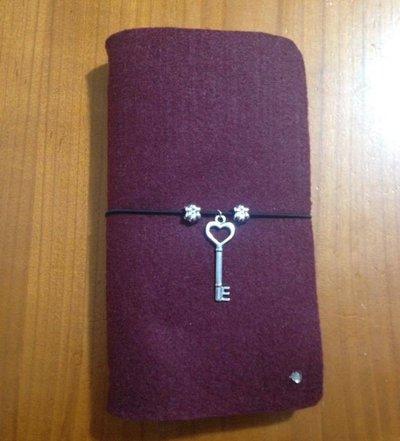 Midori traveler's notebook, agenda diario in feltro