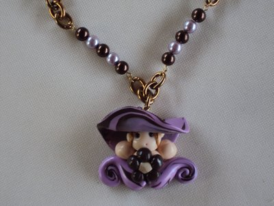 Collana in fimo fashion