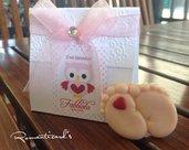 Bomboniera con calamita e scatolina personalizzata by Romanticards