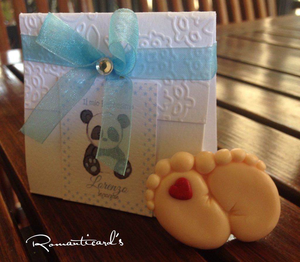 Bomboniera con calamita y scatolina personalizzata by Romanticards