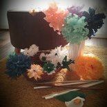 """Fiori decorativi e composizioni """" FLOWER PAPER """""""