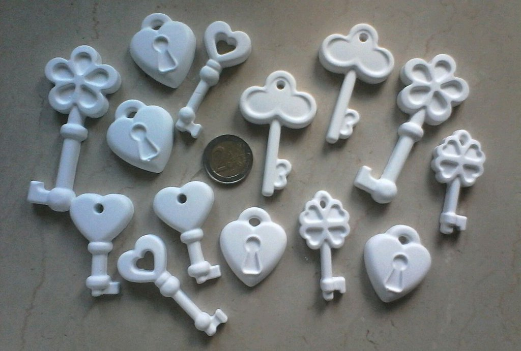 Gessetti profumati chiavi