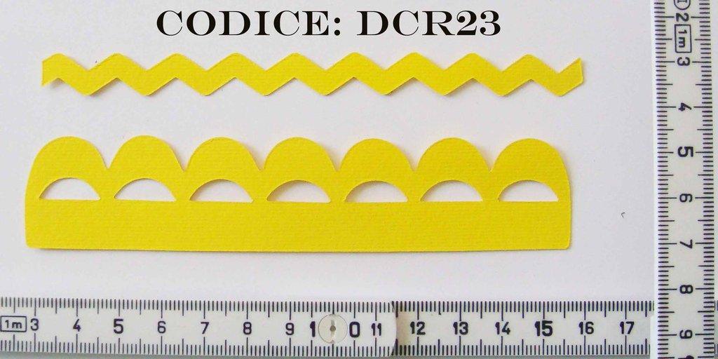 Fustellato Feltro decorazione DCR23