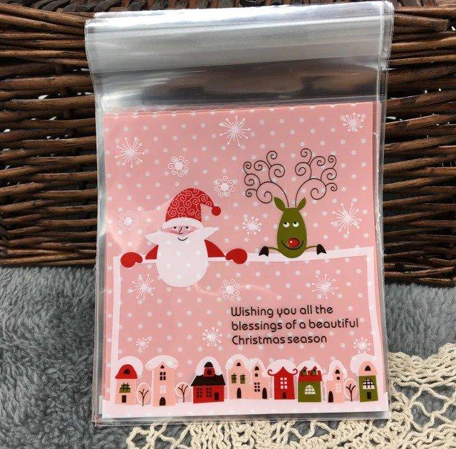 NATALE CREATIVO 10 bustine porta dolcetti o regali
